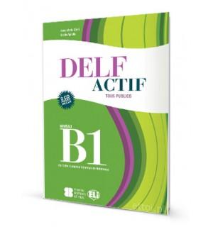 DELF ACTIF TOUS PUBLICS B1 + AUDIO CDS
