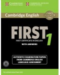 CAMBRIDGE ENGLISH FIRST 1 WITH ANSWERS (+CDS) FOR REVISED EXAM FROM 2015