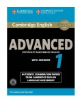 CAMBRIDGE ENGLISH ADVANCED 1 WITH ANSWERS (+CDS) FOR REVISED EXAM FROM 2015