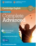 COMPLETE ADVANCED STUDENT`S BOOK WITH ANSWERS (+CD-ROM) SECOND EDITION