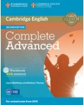 COMPLETE ADVANCED WORKBOOK WITH ANSWERS (+CD) SECOND EDITION
