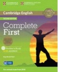 COMPLETE FIRST STUDENT`S BOOK (+CLASS CDS+CD-ROM) SECOND EDITION