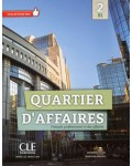 QUARTIER D`AFFAIRES 2 LIVRE ELEVE (+DVD)