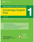 CAMBRIDGE ENGLISH FCE 1 WITH KEY (+CDROM)