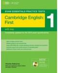 CAMBRIDGE ENGLISH FCE 1 WITH KEY (+CDROM)