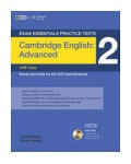 CAMBRIDGE ENGLISH CAE 2 WITH KEY (+DVD-ROM)
