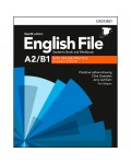 ENGLISH FILE STUDENT'S AND WORKBOOK WITH KEY A2/B1 WITH ONLINE PRACTICE FOURTH EDITION