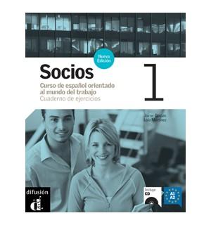 SOCIOS 1 CUADERNO DE EJERCICIOS (+CD)