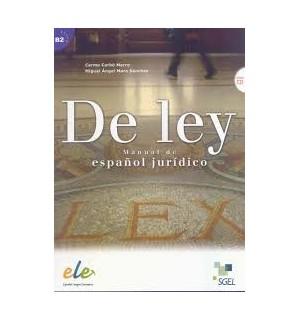 DE LEY. MANUAL DE ESPAÑOL JURIDICO