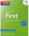 CAMBRIDGE ENGLISH FIRST FOUR PRACTICE TESTS WITH MP3 AUDIO CD
