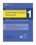 CAMBRIDGE ENGLISH ADVANCED 1 WITH KEY (+DVD-ROM)
