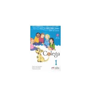 COLEGA 1 LIBRO DE CLASE + LIBRO EJERCICIOS + AUDIO CD