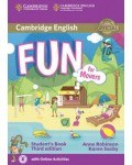 FUN FOR MOVERS STUDENT`S BOOK (+CD) THIRD EDITION