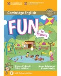 FUN FOR STARTERS STUDENT`S BOOK (+CD) THIRD EDITION