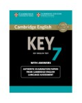 CAMBRIDGE ENGLISH KEY ENGLISH TEST 7 WITH ANSWERS (+CD)