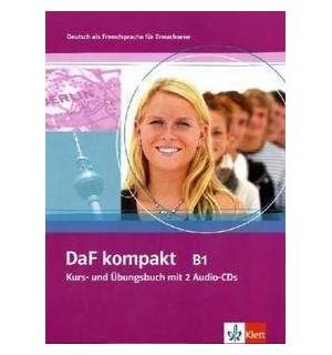 DAF KOMPAKT B1 KURS UND UBUNGSBUCH + AUDIO CDS