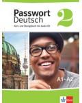 PASSWORT DEUTSCH 2 KURS UND UBUNGSBUCH MIT AUDIO CD A1 - A2