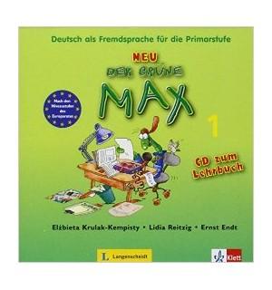 DER GRUNE MAX 1 NEU CD LIBRO DEL ALUMNO A1