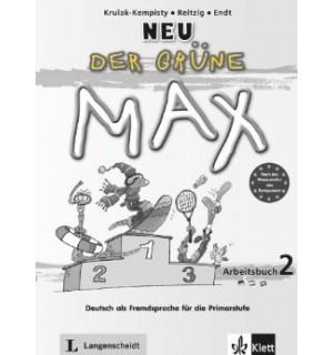 DER GRUNE MAX 2 NEU LIBRO DE EJERCICIOS A1 - A2
