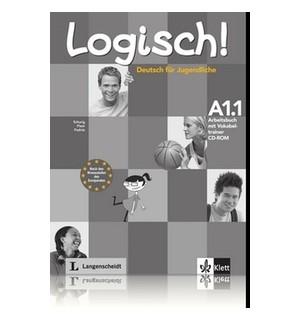 LOGISCH A1.1 LIBRO DE EJERCICIOS + VOKABELTRAINER CD-ROM