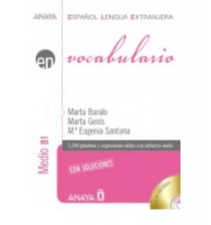 EN VOCABULARIO MEDIO B1 CON SOLUCIONES (+CD)
