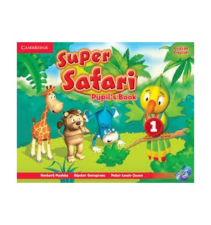 SUPER SAFARI 1 ALUMNO+DVD-ROM