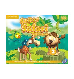 SUPER SAFARI 2 ALUMNO+DVD-ROM