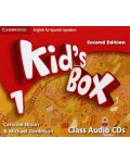 KID S BOX 1 FOR SPANISH SPEAKERS CLASS AUDIO CDS SECOND EDITION