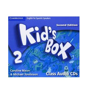 KID S BOX 2 FOR SPANISH SPEAKERS CLASS AUDIO CDS SECOND EDITION
