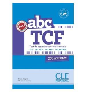 ABC TCF LIVRE CONFORME 2014 (+CD)