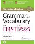 CAMBRIDGE ENGLISH GRAMMAR AND VOCABULARY FOR FIRST AND FIRST FOR SCHOOLS WITH ANSWERS