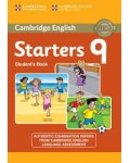 CAMBRIDGE ENGLISH STARTERS 9 STUDENT`S BOOK