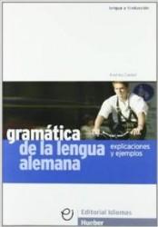 Gramatica lengua alemana....