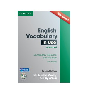 ENGLISH VOCABULARY IN USE ADVANCED WITH ANSWERS SECOND EDITION + CD ROM