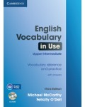 ENGLISH VOCABULARY IN USE UPPER INTERMEDIATE THIRD EDITION + CD ROM
