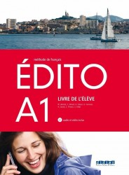 Edito A1 Livre d'Eleve + Cd + Dvd