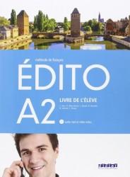 Edito A2 Livre d'Eleve + Cd + Dvd