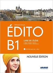 Edito B1 Livre d'Eleve + Cd + Dvd