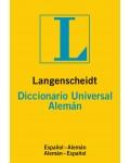 LANGENSCHEIDT DICCIONARIO UNIVERSAL ALEMAN