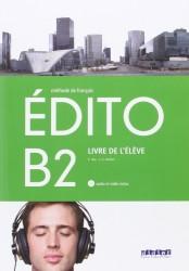 Edito B2 Livre d'Eleve + Cd + Dvd