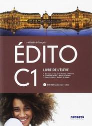 Edito C1 Livre d'Eleve + Cdrom