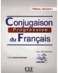 CONJUGAISON PROGRESSIVE DU FRANÇAIS NIVEAU DEBUTANT +CD LIVRE-WEB