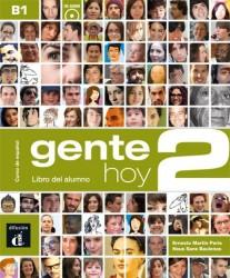 Gente Hoy 2 Libro del Alumno + Cd