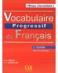 VOCABULAIRE PROGRESSIF INTERMEDIAIRE 2ED CORRIGES