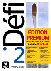Defi 2 Livre d'Eleve Premium A2