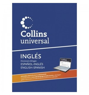 COLLINS UNIVERSAL ESPAÑOL - INGLES / INGLES - ESPAÑOL + CDROM