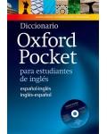 DICCIONARIO OXFORD POCKET PARA ESTUDIANTES DE INGLES (+CDROM)