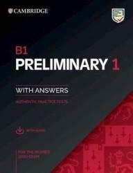B1 Preliminary 1 + Key + Audio