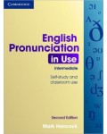 ENGLISH PRONUNCIATION IN USE INTERMEDIATE PACK BOOK WITH CD-ROM AND AUDIO CDS