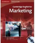 CAMBRIDGE ENGLISH FOR MARKETING (+CD)